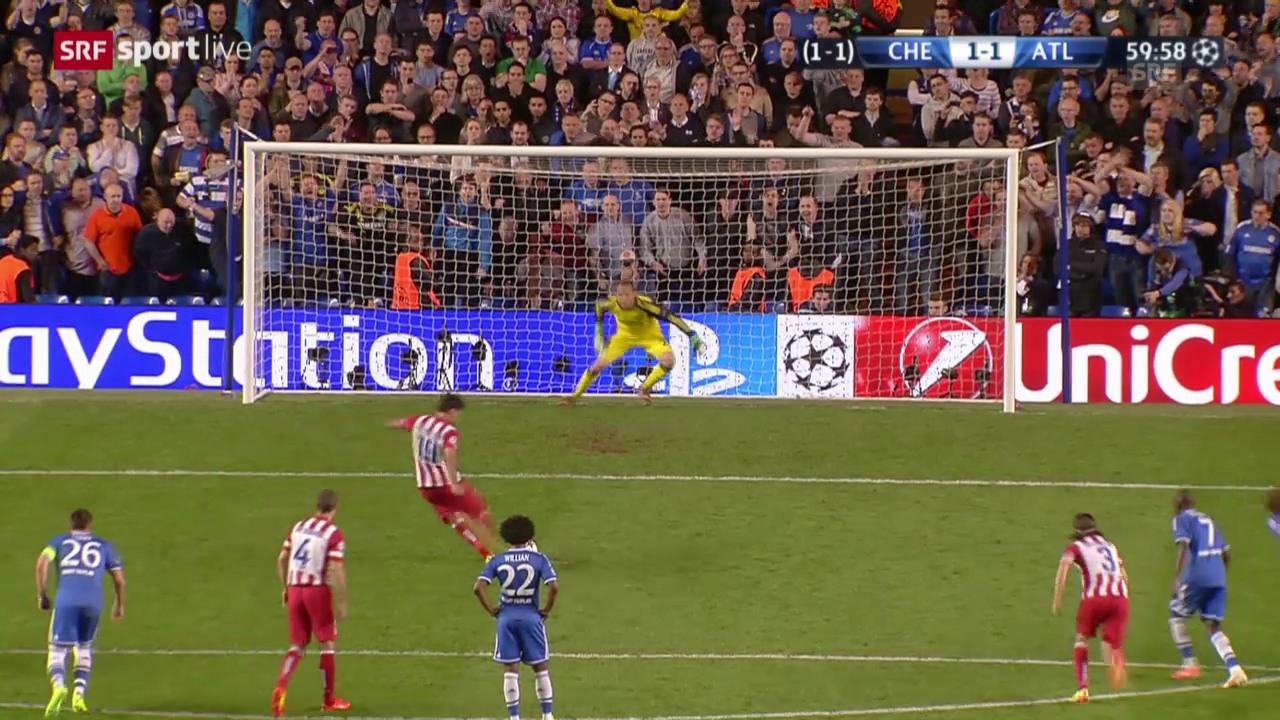 Halbfinal-Rückspiel: Chelsea - Atletico 1:3