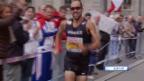 Video «50 km Gehen: Zieleinlauf von Diniz» abspielen