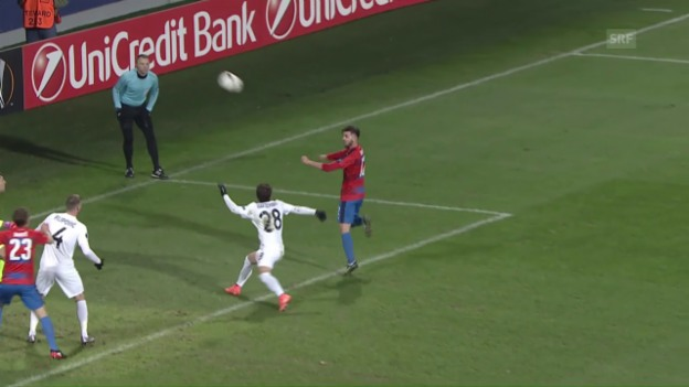 Video «Austria Wien gibt 2-Tore-Vorsprung aus der Hand» abspielen