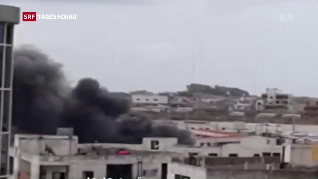 IS-Anschlagswelle auf Assad-Hochburg