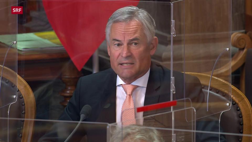 Matthias Michel (FDP/ZG): «Neue Situation erfordert Neubeurteilung der Interessenlage»