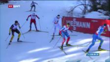 Video «Ski nordisch WM: Langlauf Männer-Staffel («sportaktuell»)» abspielen