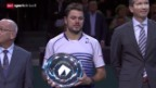 Video «Tennis: Final Rotterdam, Wawrinka - Berdych» abspielen