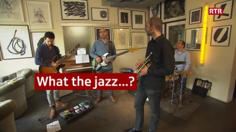 Laschar ir video «What the jazz...? – Il quartet»
