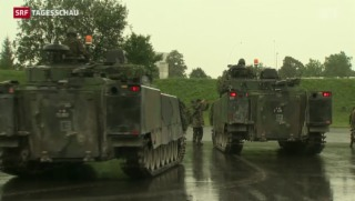 Video «Kritik von allen Seiten an der «neuen» Armee» abspielen