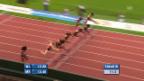Video «100 m Hürden Frauen» abspielen