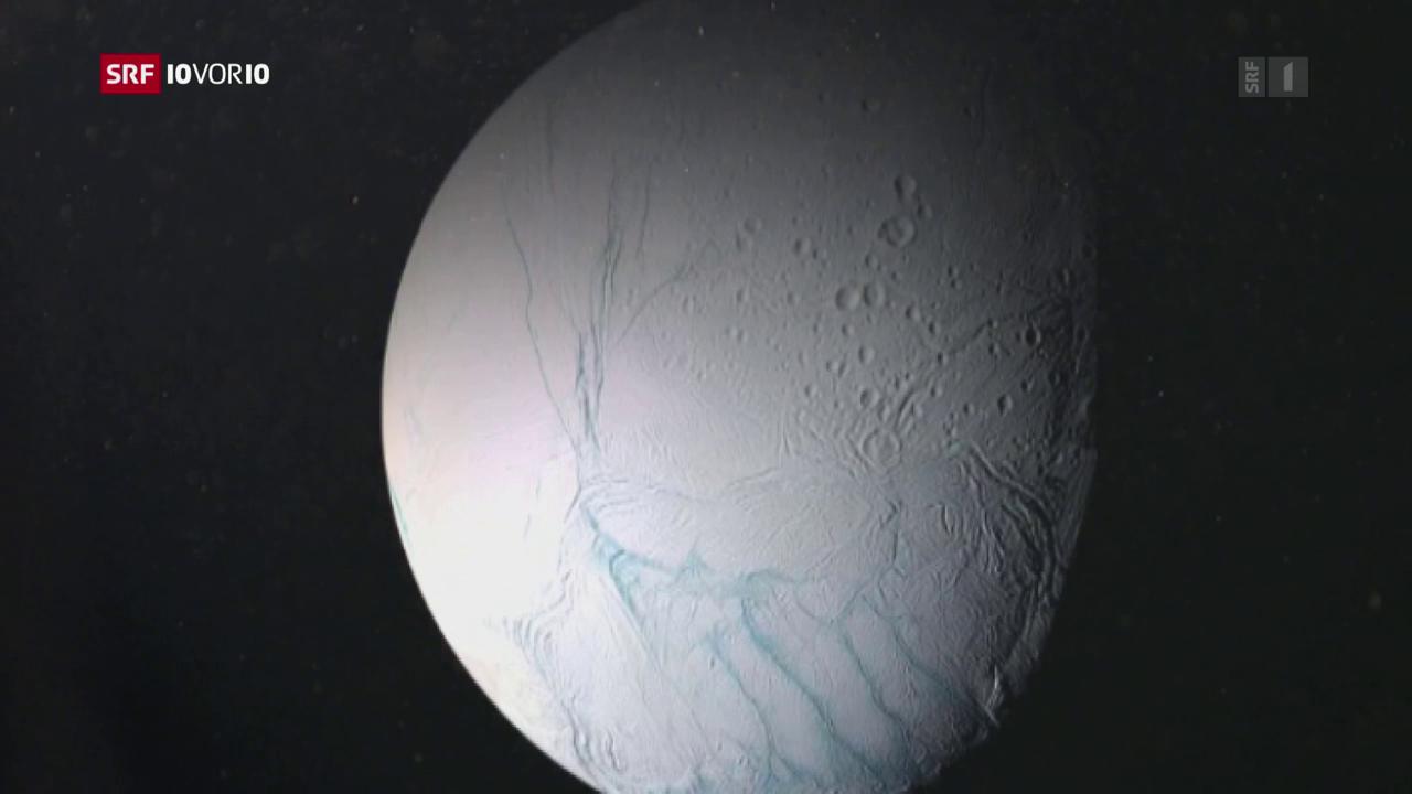Saturn-Mond Enceladus bewohnbar?