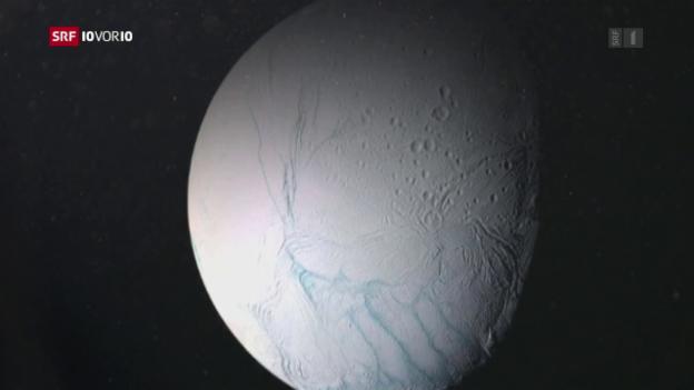 Video «Saturn-Mond Enceladus bewohnbar?» abspielen