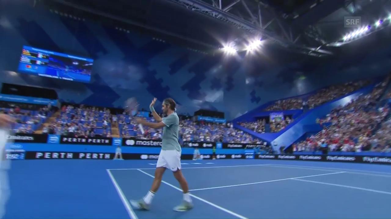 Federers souveräner Auftritt gegen Gasquet