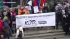 Video «EU droht Polen mit Stimmrechtsentzug» abspielen