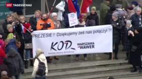 Video «EU droht Polen mit Stimmrechtsentzug » abspielen