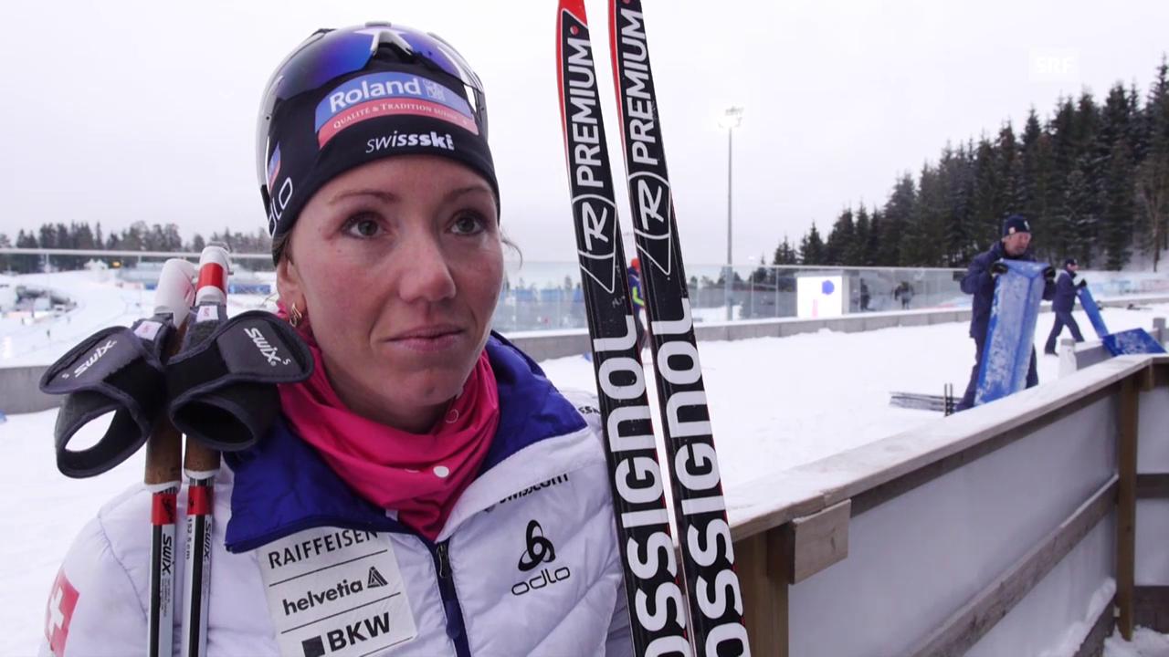 Selina Gasparin vor der WM in Oslo im Interview