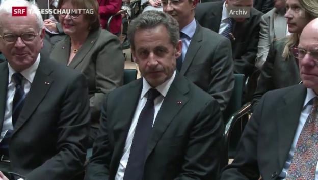 Video «Sarkozy in Polizeigewahrsam» abspielen