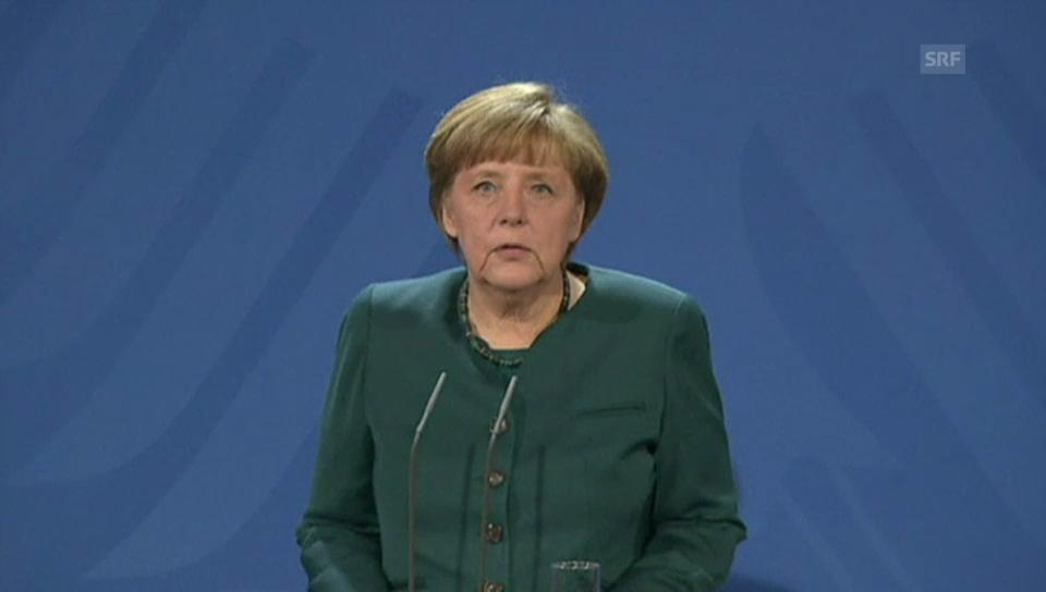 Angela Merkel über den Rücktritt von Hans-Peter Friedrich
