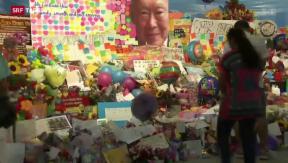 Video «Singapur trauert um Staatsgründer» abspielen
