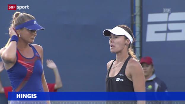 Video «Tennis: Saisonende für Martina Hingis («sportaktuell»)» abspielen