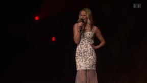 Video «Linda Fäh: Silvester auf der Bühne» abspielen