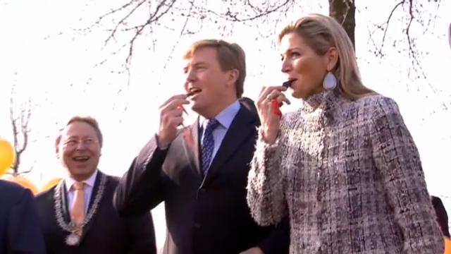 Willem-Alexander und Máxima eröffnen «Königsspiele»