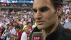 Video «Federer gelingt der Start ins Turnier» abspielen