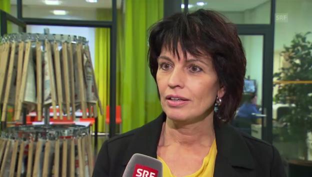 Video «Die Bilanz von Bundesrätin Leuthard zur Energiedebatte» abspielen