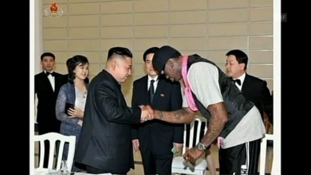 Video «Dennis Rodman trifft Nordkoreas Diktator» abspielen