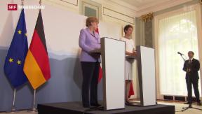 Video «Deutsche Bundeskanzlerin in Bern» abspielen