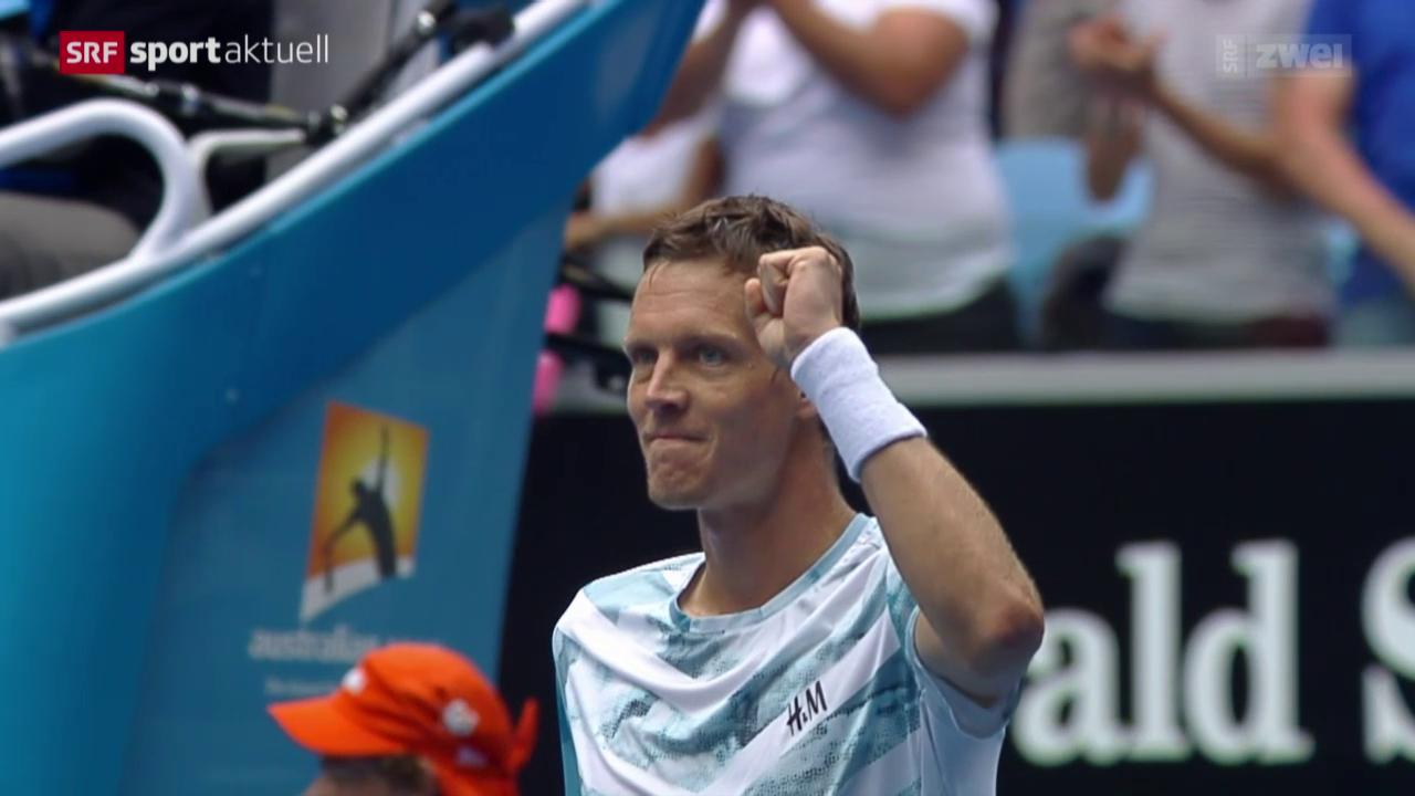 Tennis: Australian Open, Berdych - Nadal