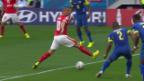Video «Fussball: WM, Zusammenfassung Schweiz - Ecuador» abspielen