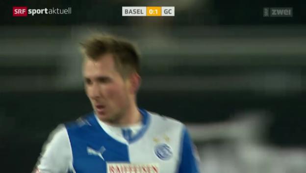 Video «Fussball: Tor von Hajrovic gegen Basel, 7.12.13» abspielen