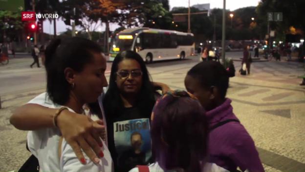 Video «Brasiliens Problem mit Polizeigewalt» abspielen