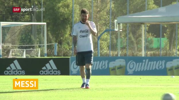 Video «Messis Sperre aufgehoben» abspielen