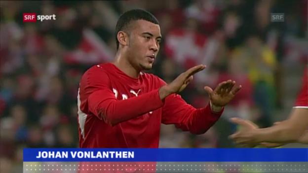 Video «Fussball: GC verpflichtet Johan Vonlanthen («sportaktuell»)» abspielen