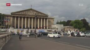 Video «Parlament in Frankreich» abspielen