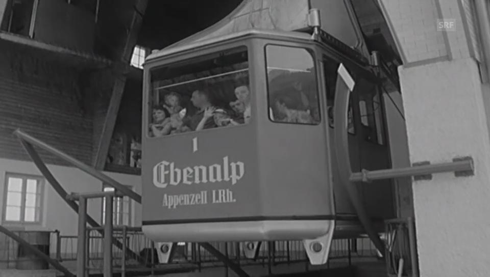 Seilbahnen in Appenzell - Antenne 1964