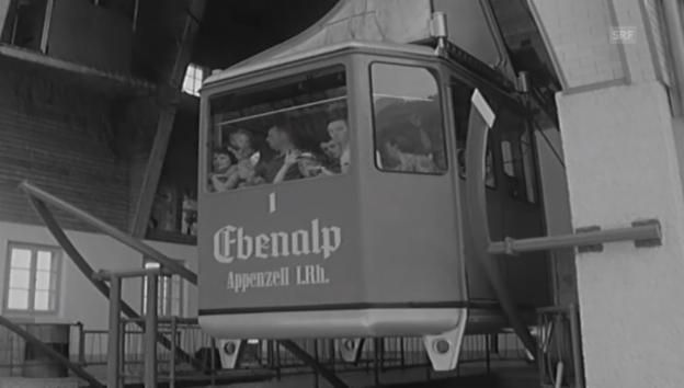 Video «Seilbahnen in Appenzell - Antenne 1964» abspielen