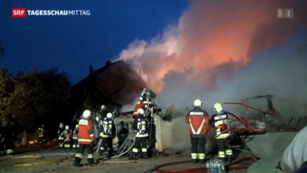 Video «Grossbrand in Selzach» abspielen
