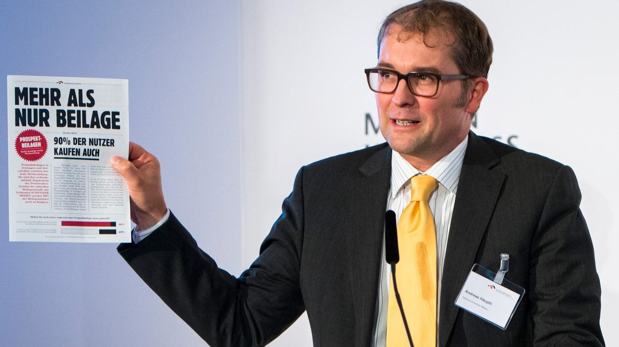 «Gut, aber», sagt Andreas Häuptli vom Verlegerverband