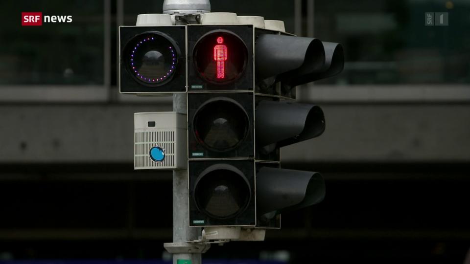 Bern testet Fussgänger-Ampel mit Countdown