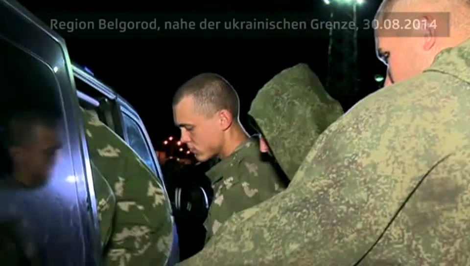 Russische Fallschirmjäger sind wieder in der Heimat