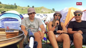 Laschar ir video «L'emprima giada al Open Air Lumnezia»
