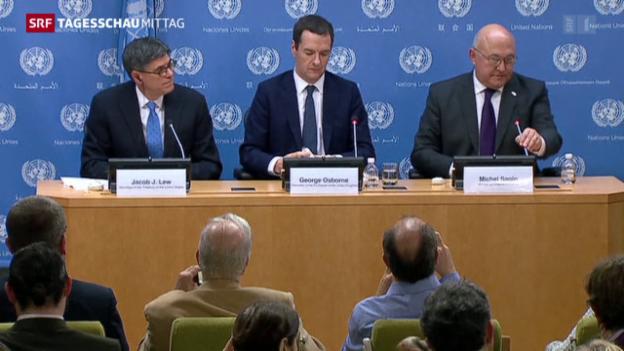 Video «UNO-Resolution gegen Terrorfinanzierung» abspielen