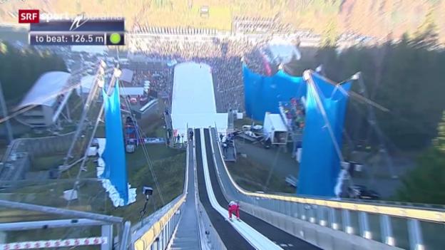 Video «Skispringen: Weltcup in Klingenthal» abspielen