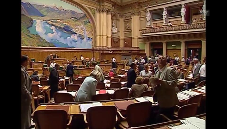 46. Legislatur: Das Jein zu Europa