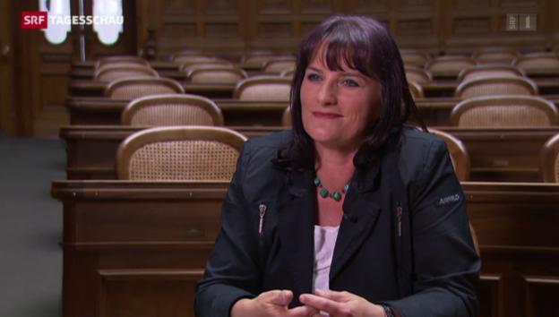 Video «Christine Häsler: Nur zwei Wochen Sessions-Erfahrung» abspielen