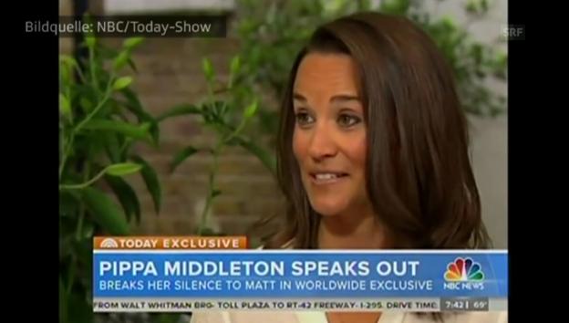 Video «Pippa Middleton im Juni 2014 in der US-«Today-Show» abspielen
