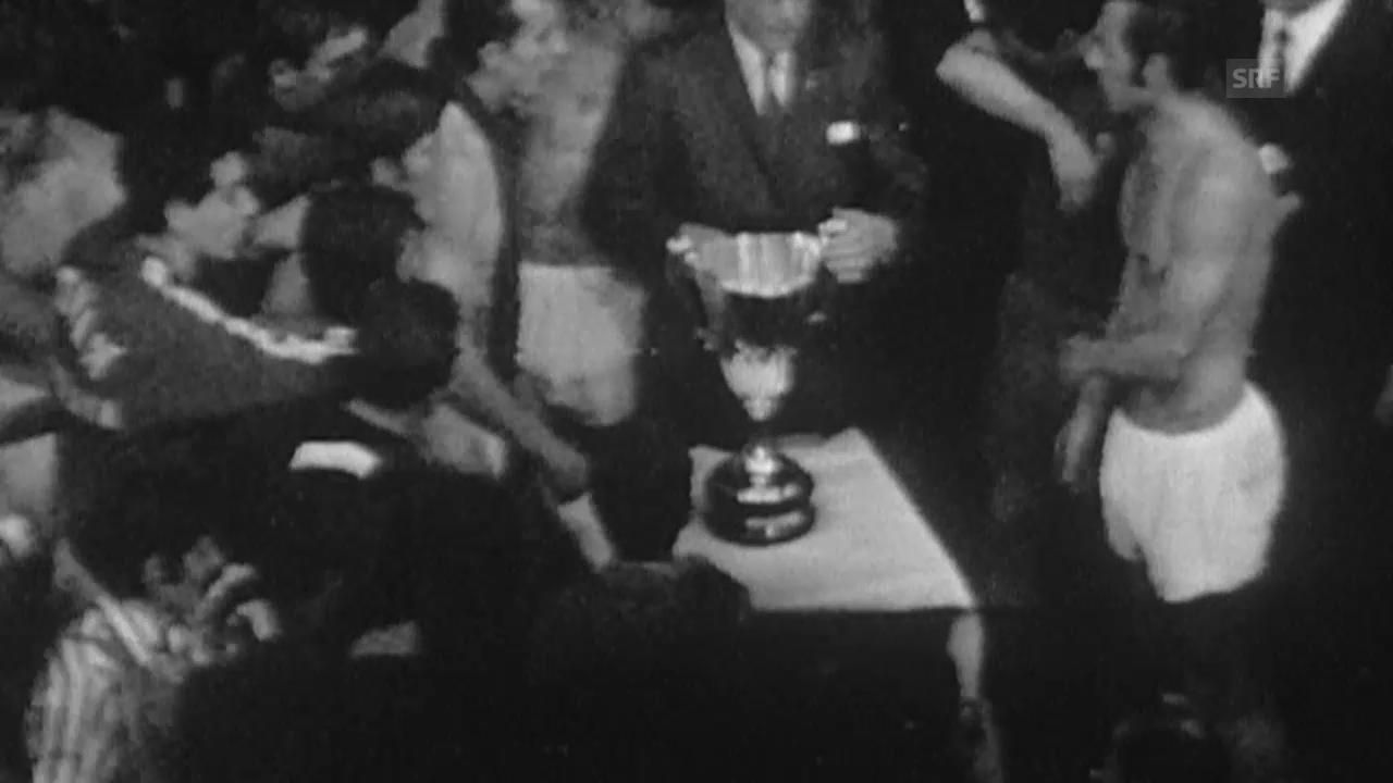 Fussball: Cupsiegercup, Final 1969 in Basel