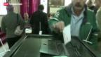 Video «Verfassungs-Abstimmung in Ägypten: 2. Wahlgang» abspielen