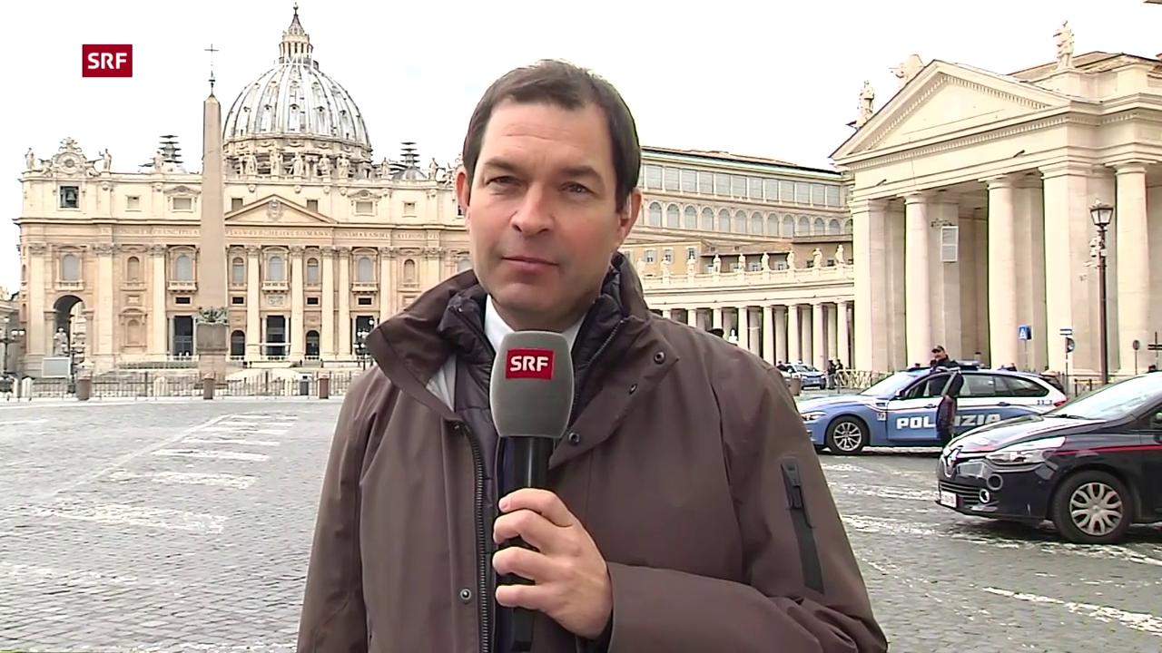 SRF-Korresponten Philipp Zahn aus Rom