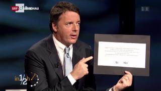 Video «Renzi unter Druck» abspielen