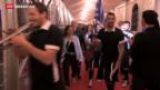 Video «Enttäuschung am Eurovision Song Contest» abspielen